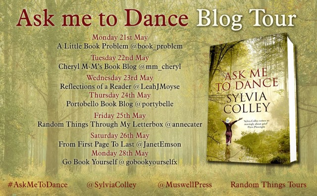 Ask Me To Dance Blog Tour Poster