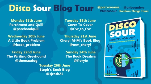 Disco Sour Blog Tour Poster