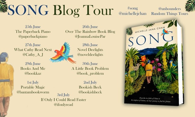 Song Blog Tour Poster