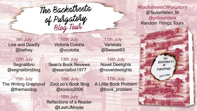 Backstreets of Purgatory Blog Tour Poster