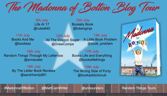 Madonna Of Bolton Blog Tour Poster