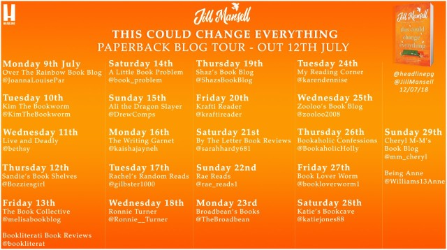 This Could Change Everything Blog Tour Poster