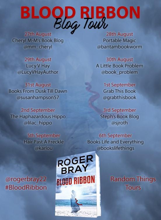 Final Blood Ribbon Blog Tour poster