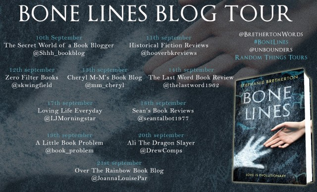 Bone Lines Blog Tour Poster