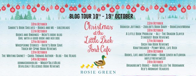 Christmas at the Little Duck Pond Cafe Full Tour Banner