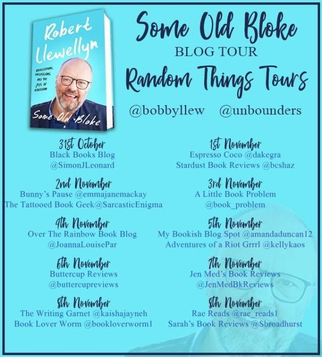 Some Old Bloke Blog Tour Poster