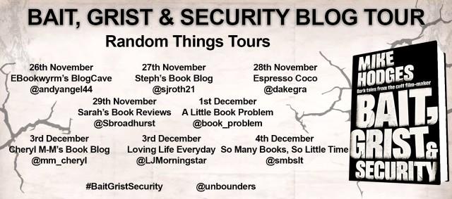 Bait Grist Blog Tour Poster