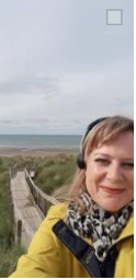 me in headphones beach pic