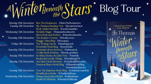 Winter Beneath The Stars Blog Tour Poster