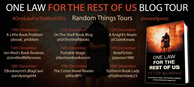 One Law For the Rest of us Blog Tour Poster