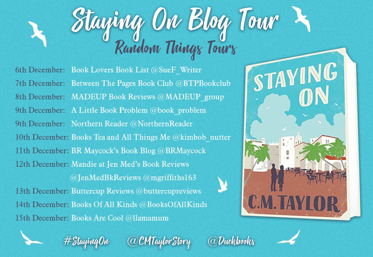 Staying On Blog Tour Poster