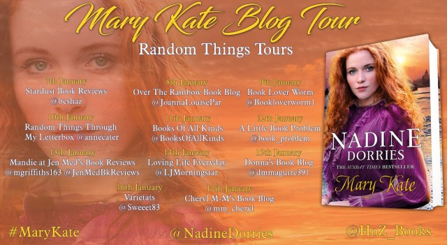 mary kate blog tour poster