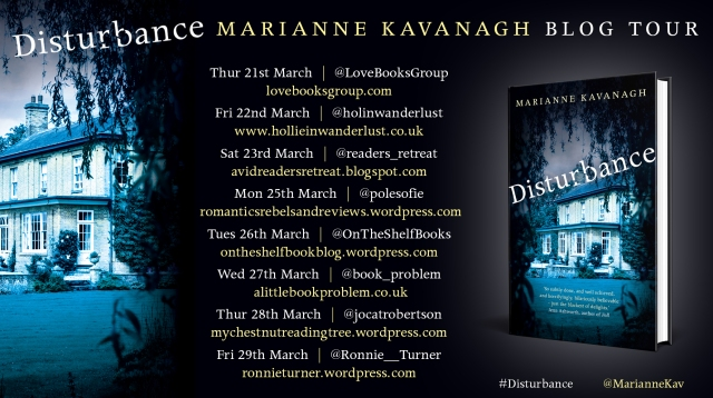 Disturbance Blog Tour Poster