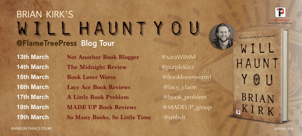 Will Haunt You Blog Tour Poster