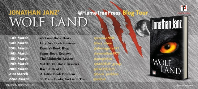 Wolf Land Blog Tour Poster