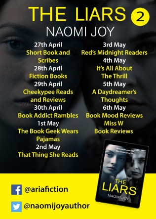 The Liars Blog Tour Poster 2