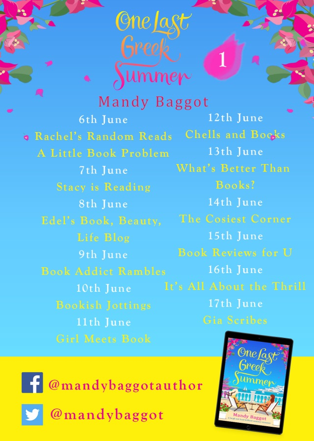One Last Greek Summer Blog Tour Poster 1