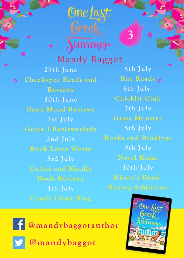 One Last Greek Summer Blog Tour Poster 3