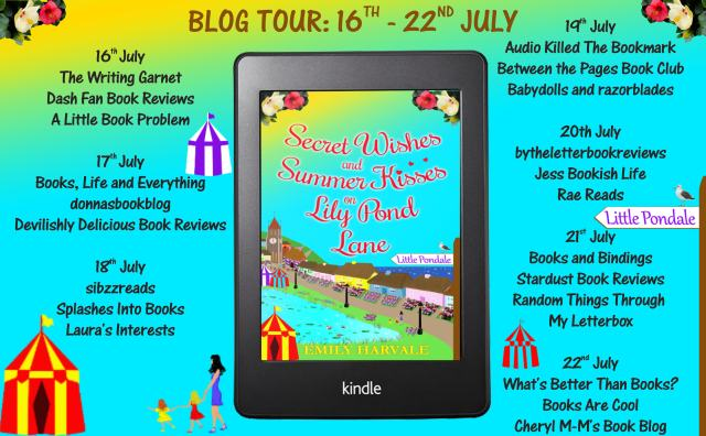 Secret Wishes and Summer Kisses on Lily Pond Lane Full Tour Banner