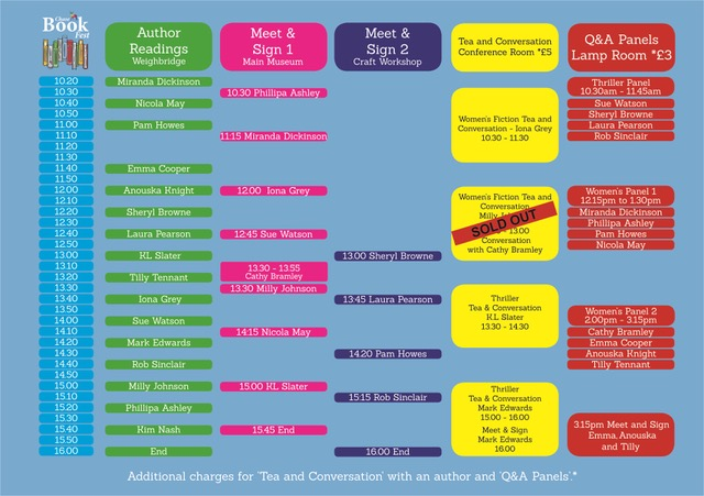 book fest time table (002) updated 29-8-19
