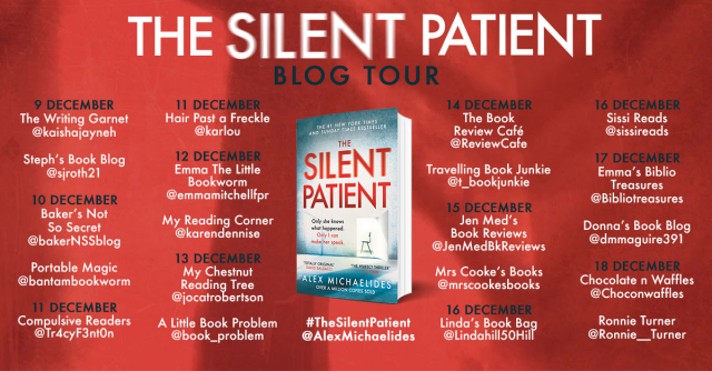 The Silent Patient PB blog tour
