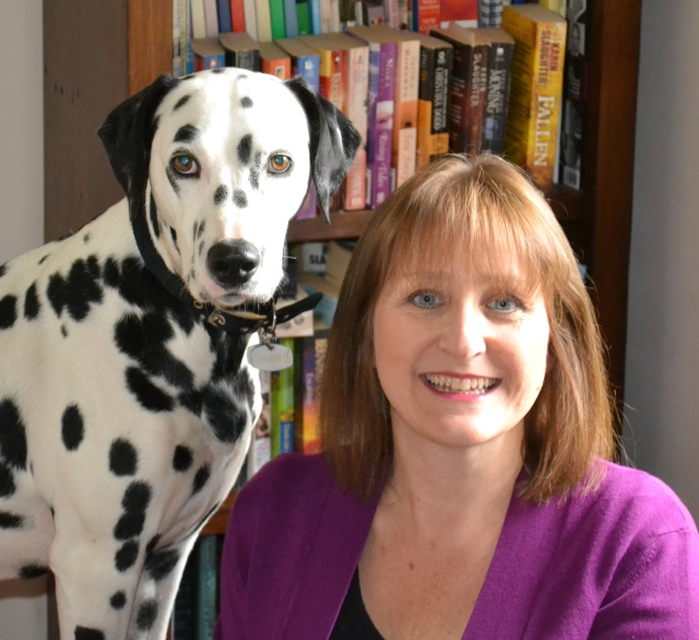 Author Photo with Skye