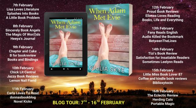 When Adam Met Evie Full Tour Banner