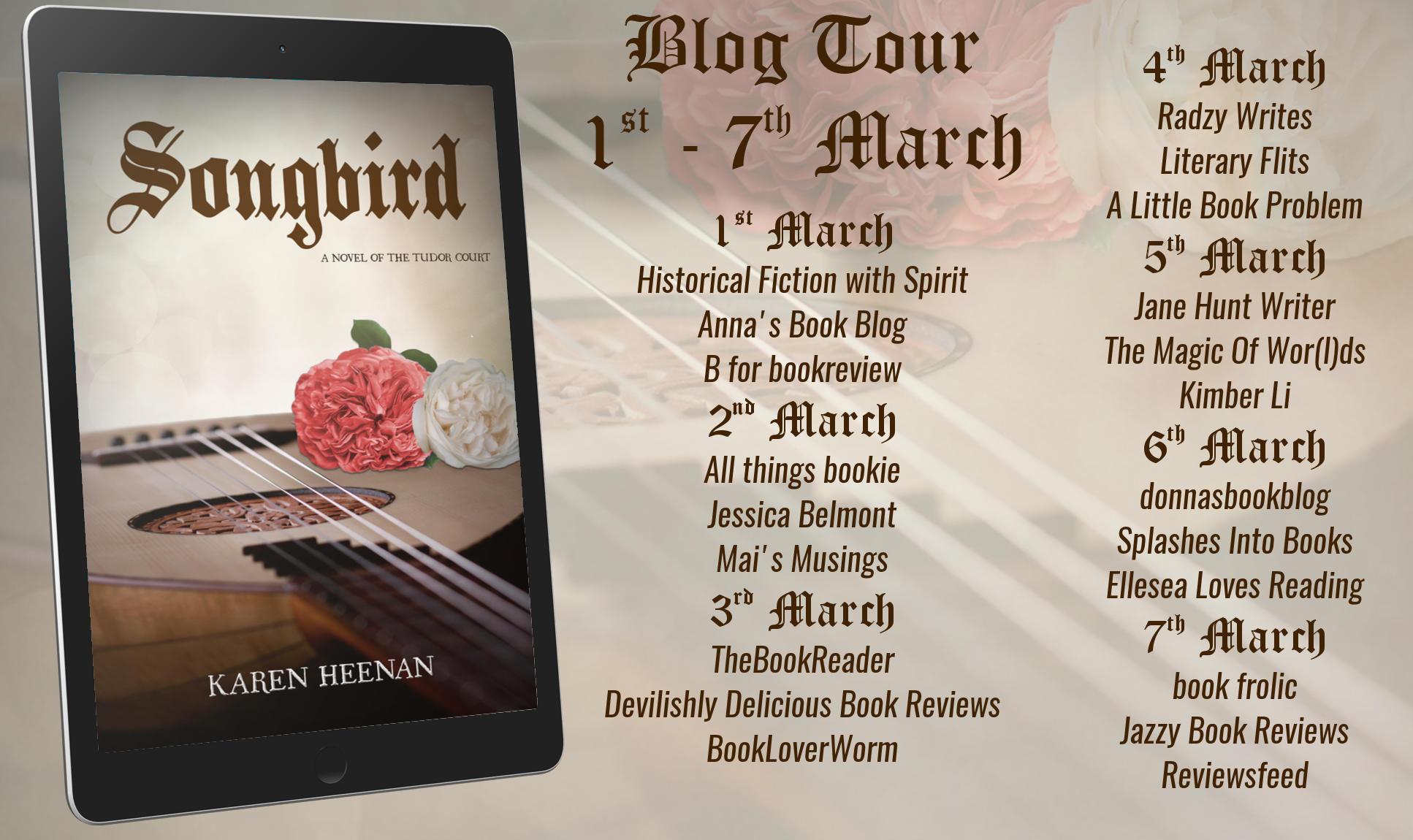 Songbird Full Tour Banner