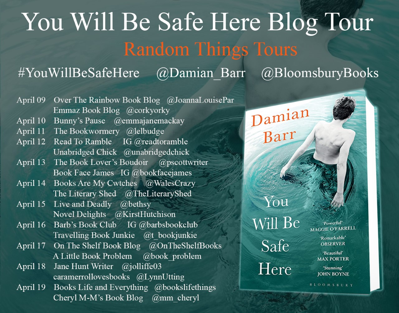 You Will Be Safe Here BT Poster 2