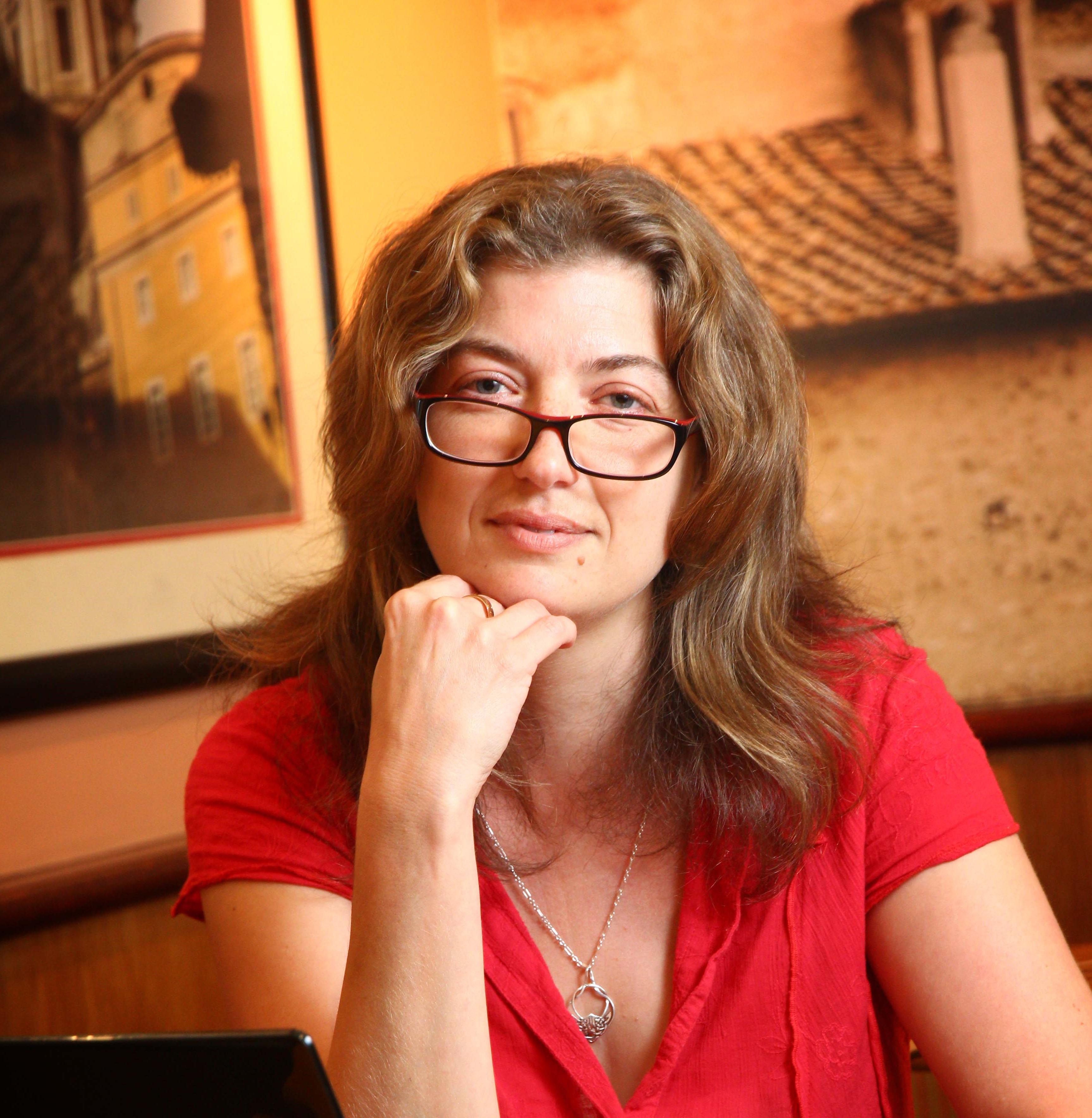 Jenny Kane at Costa