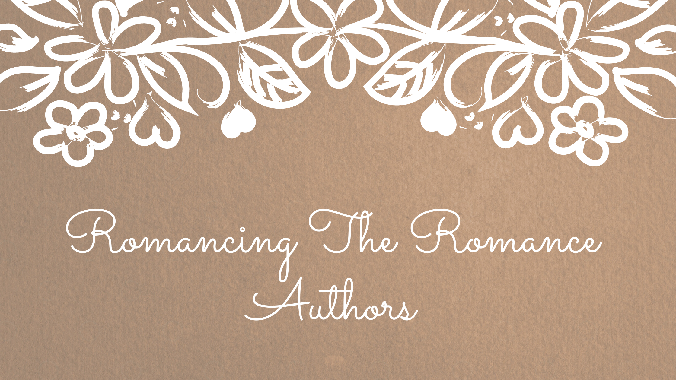 Romancing The Romance Authors