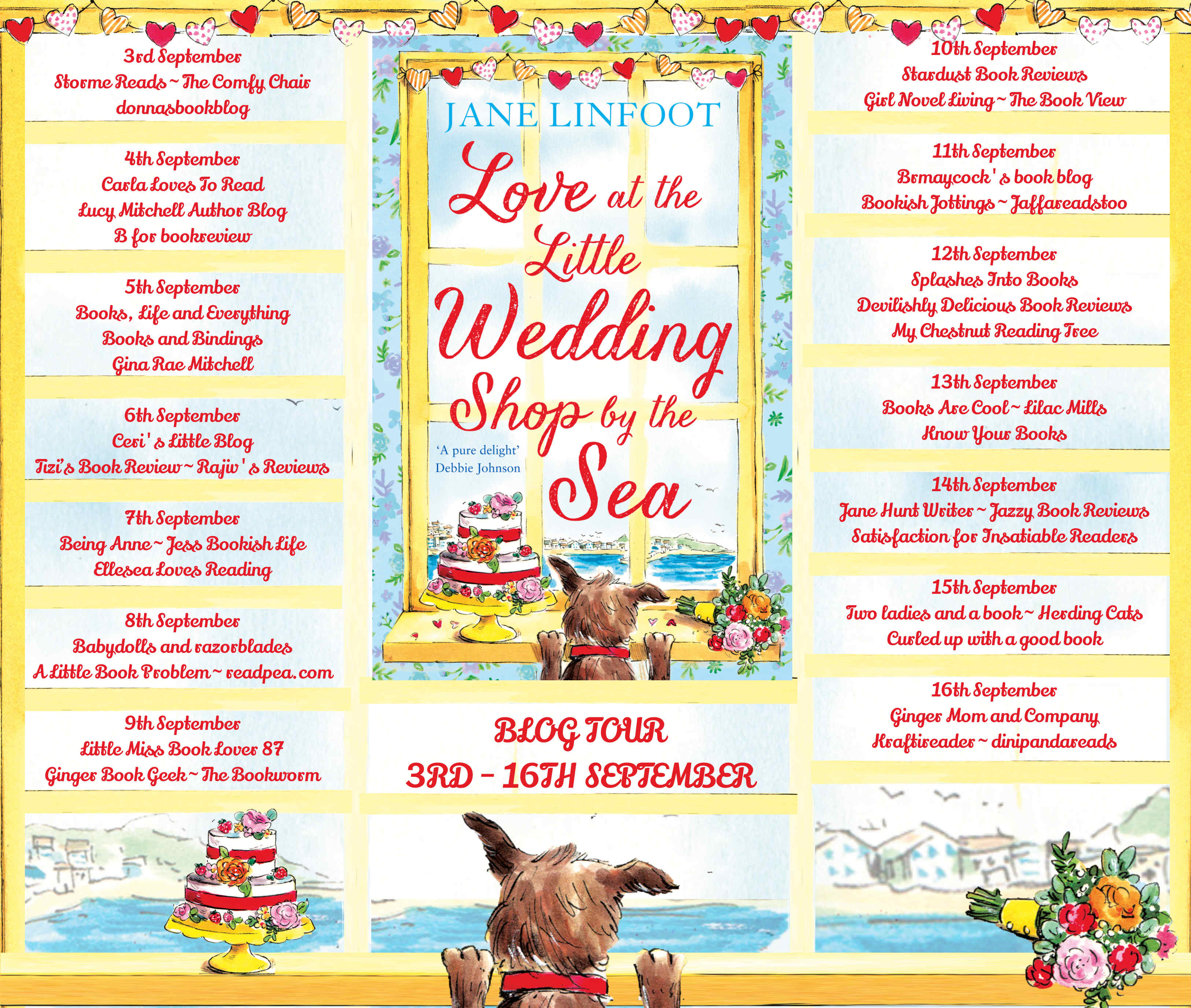 Love at the Little Wedding Shop by the Sea Full Tour Banner