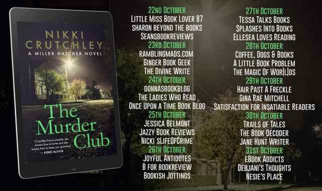 The Murder Club Full Tour Banner