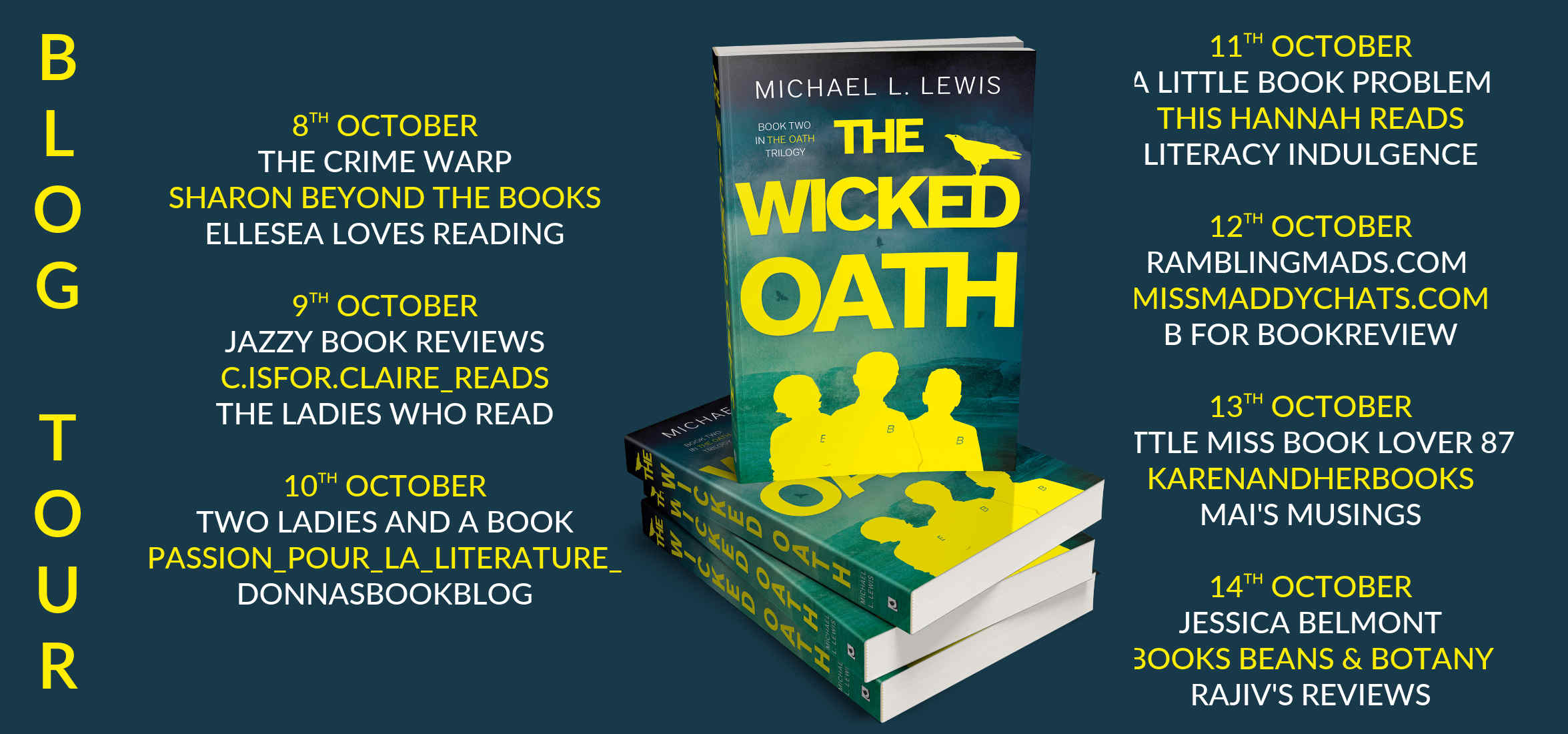 The Wicked Oath Full Tour Banner