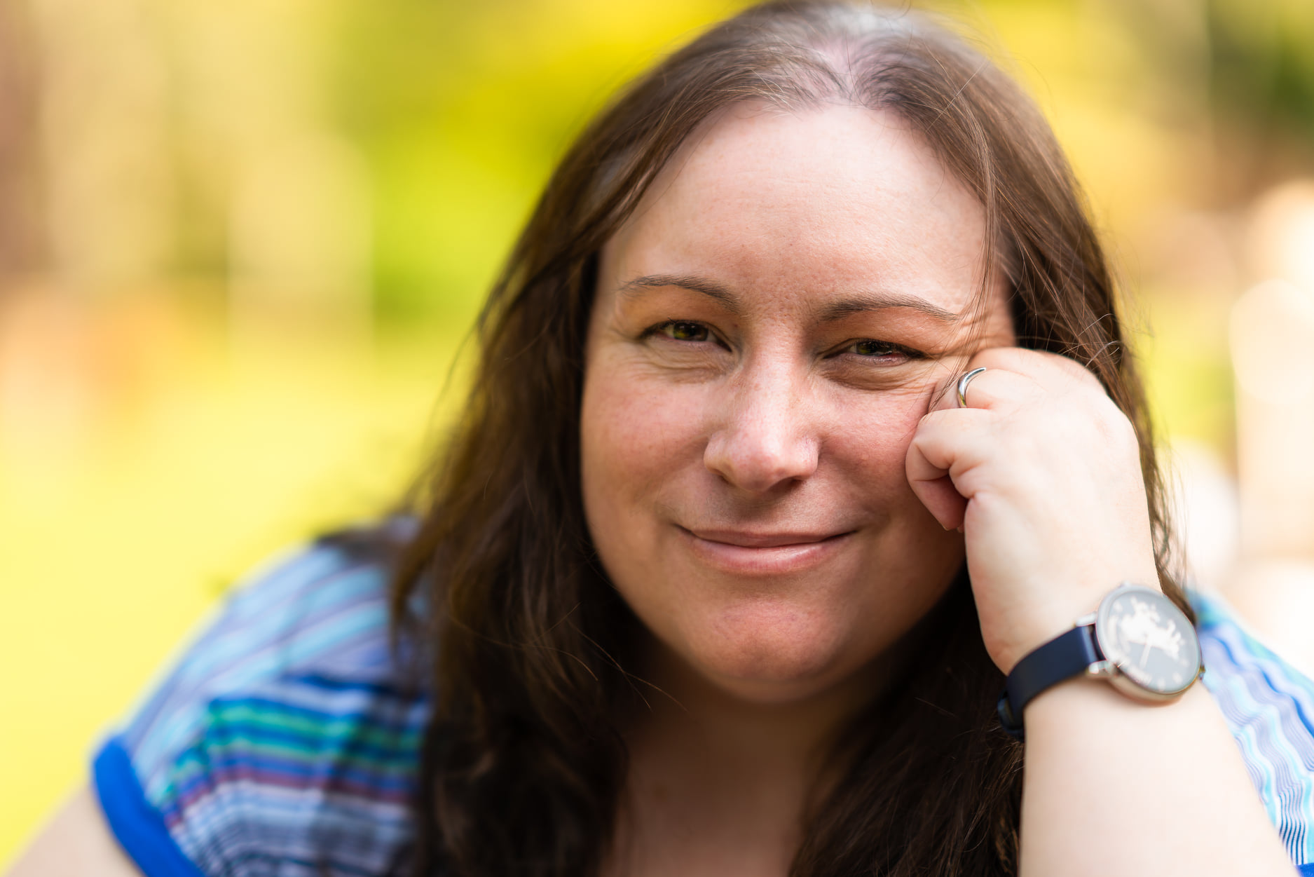 Author Pic from Arboretum