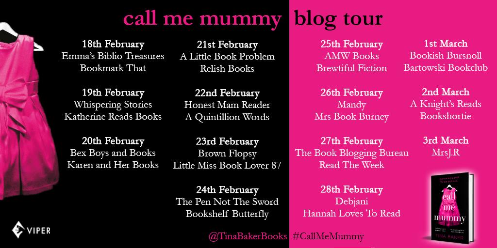 Call Me Mummy - Blog Tour Asset - Twitter Tour - Twitter