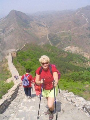 Carooine trekking in China