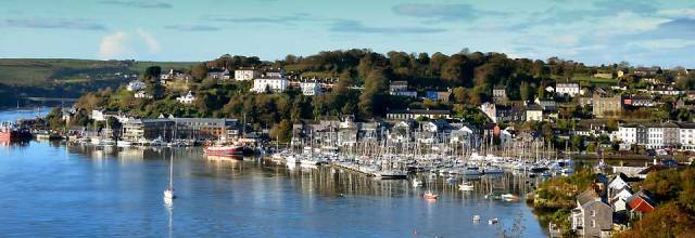 Kinsale in Southern Ireland