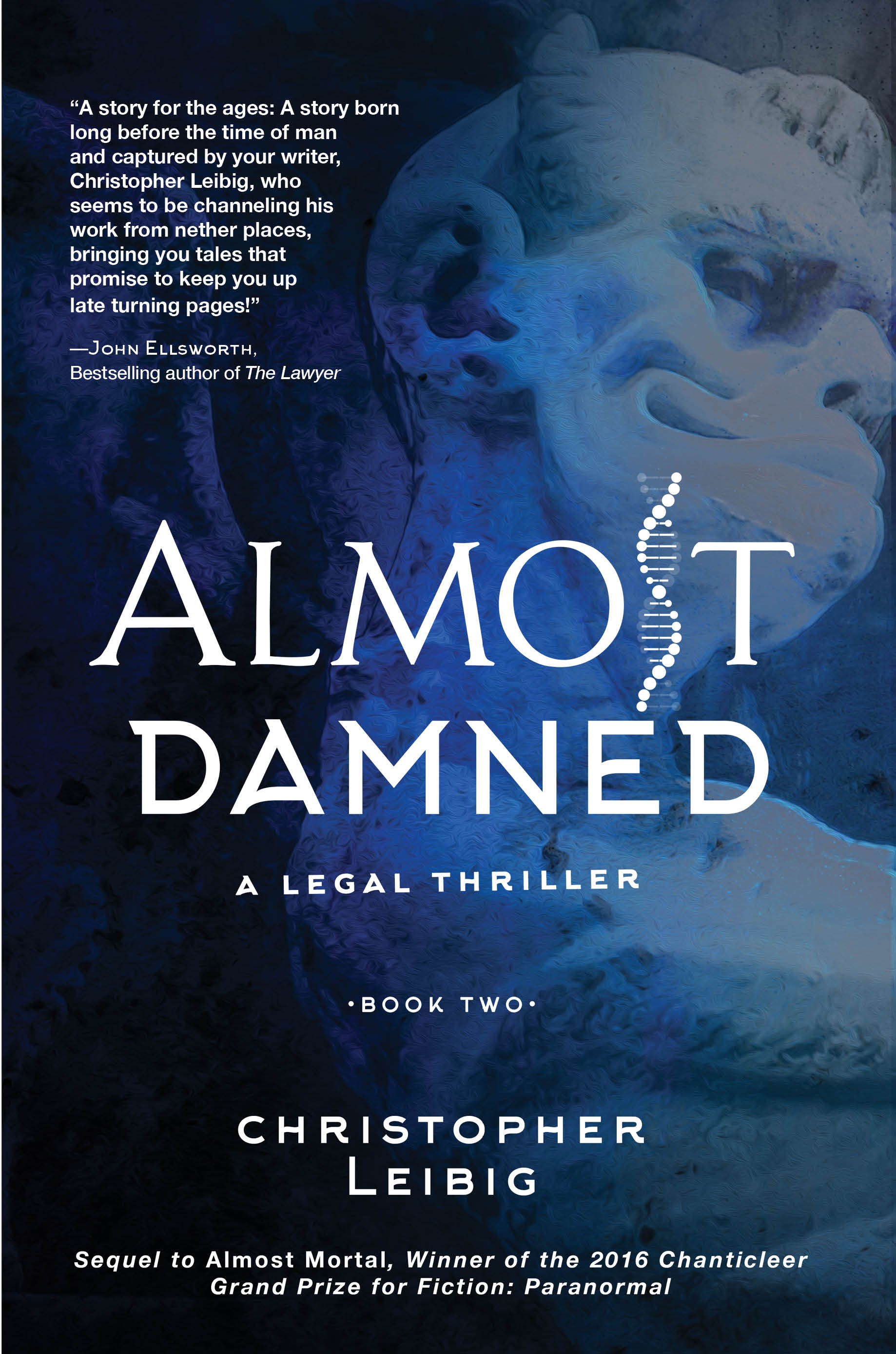 almost damned update front cover