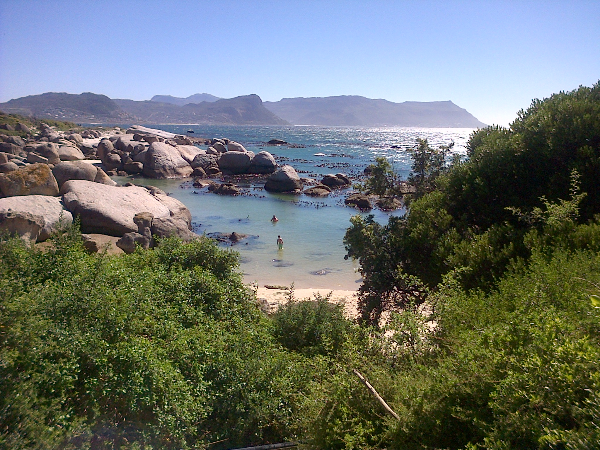 One of our local beaches, near Cape Town