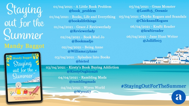 Staying out for Summer Blog Tour 1
