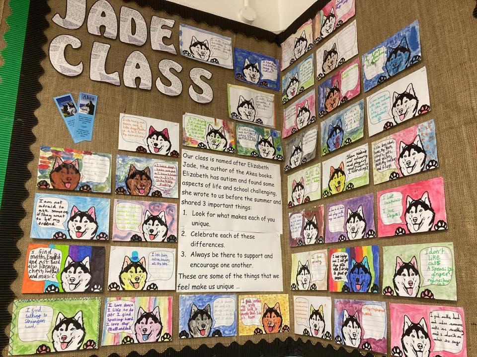 Elizabeth Jade class