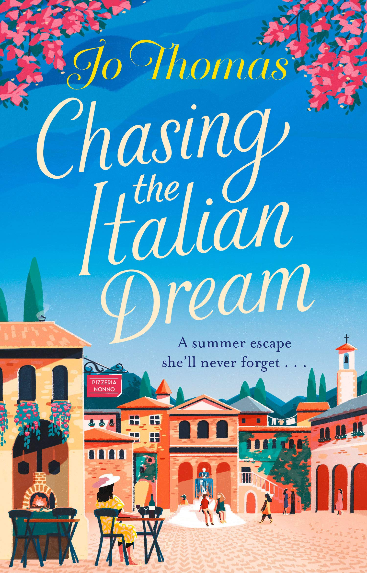 FINAL Chasing The Italian Dream Cover