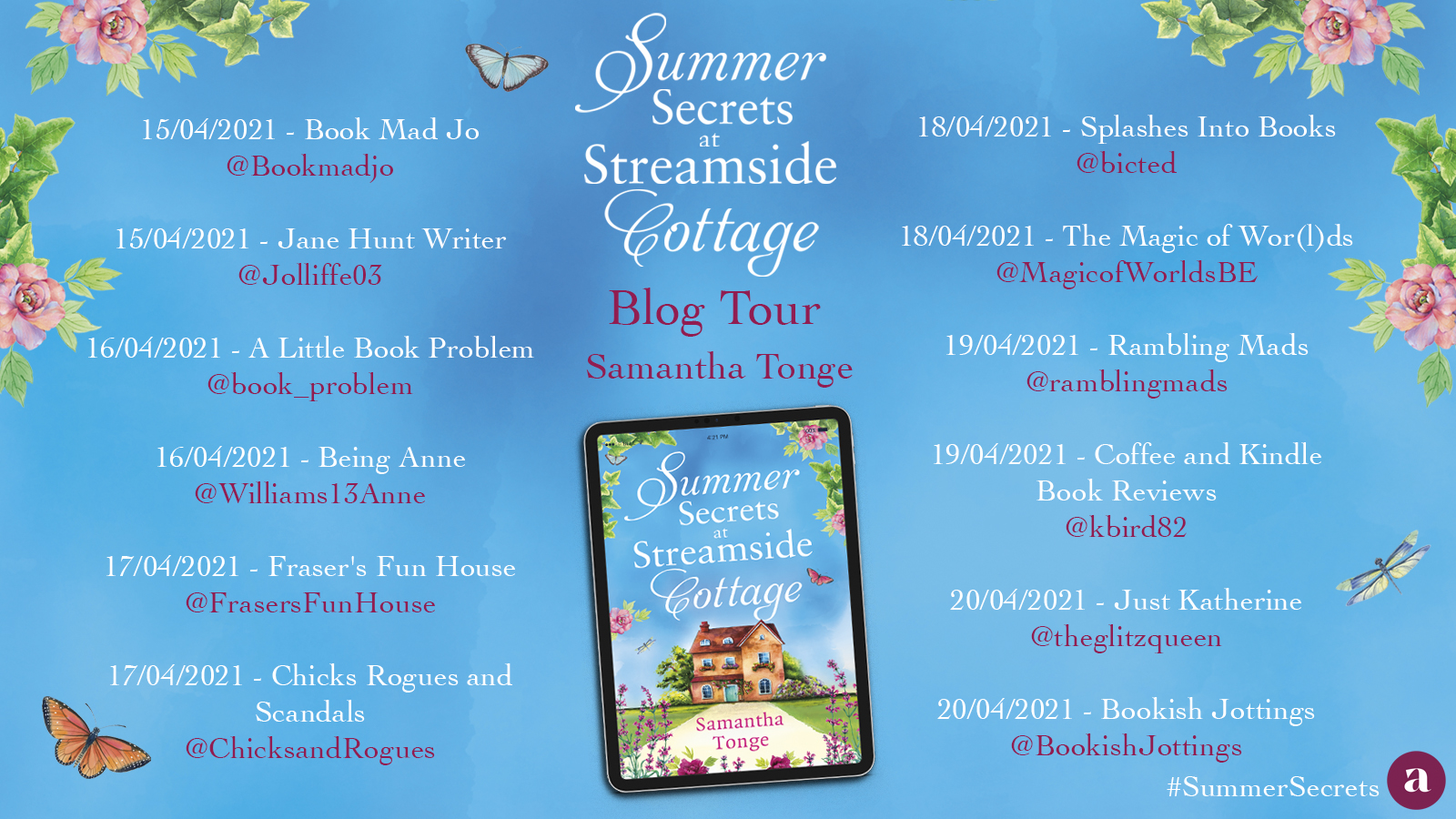 Summer Secrets at Streamside Blog Tour 1