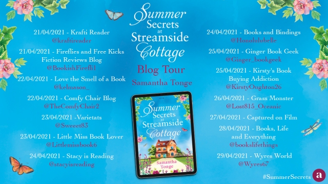 Summer Secrets at Streamside Blog Tour 2