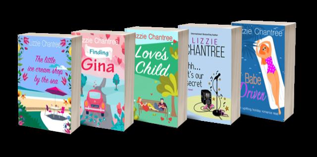 5 paperbacks
