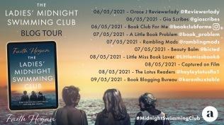 Ladies' Midnight Swimming Club Blog Tour 1