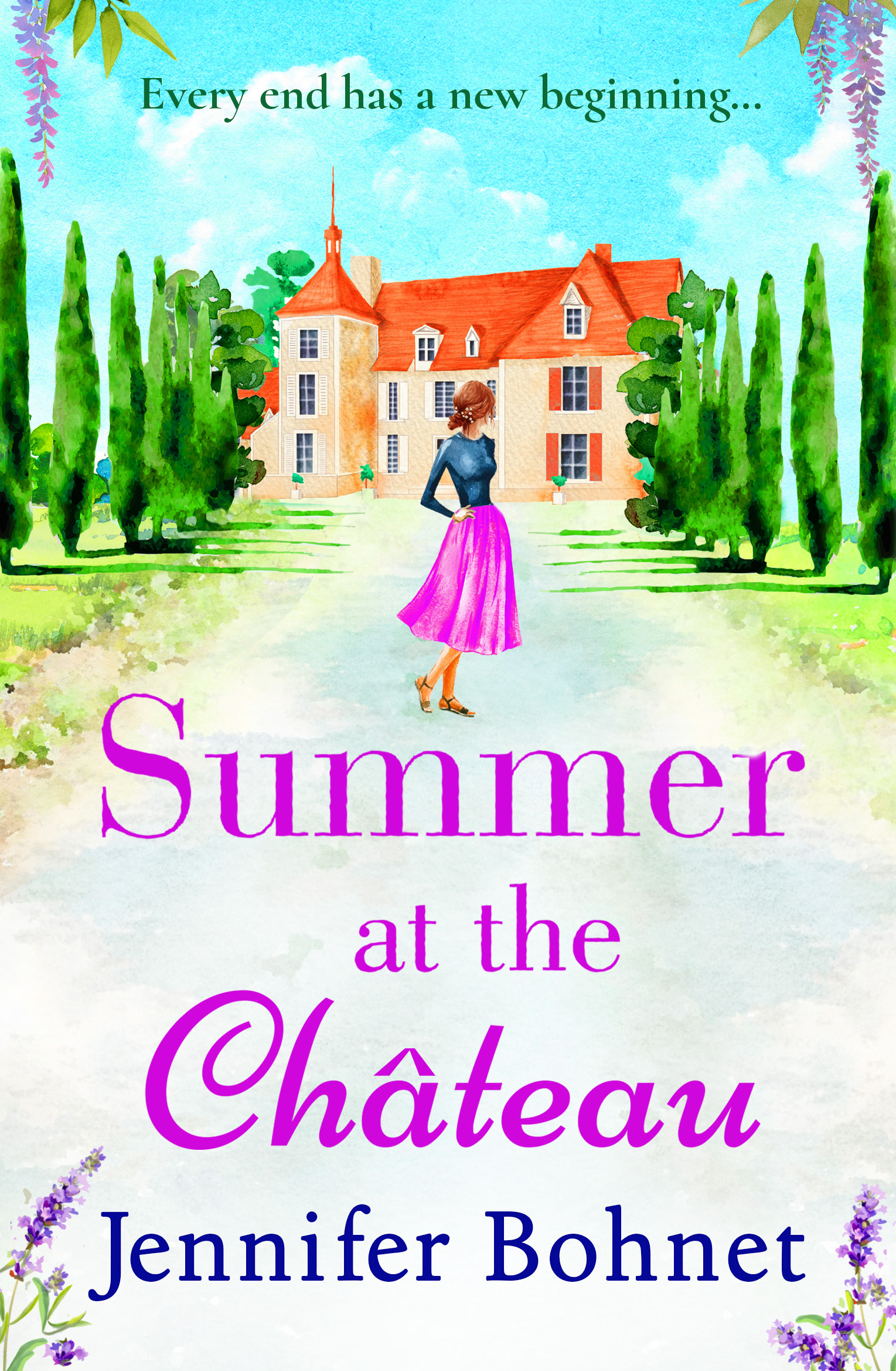 SUMMER AT THE CHATEAU Cover