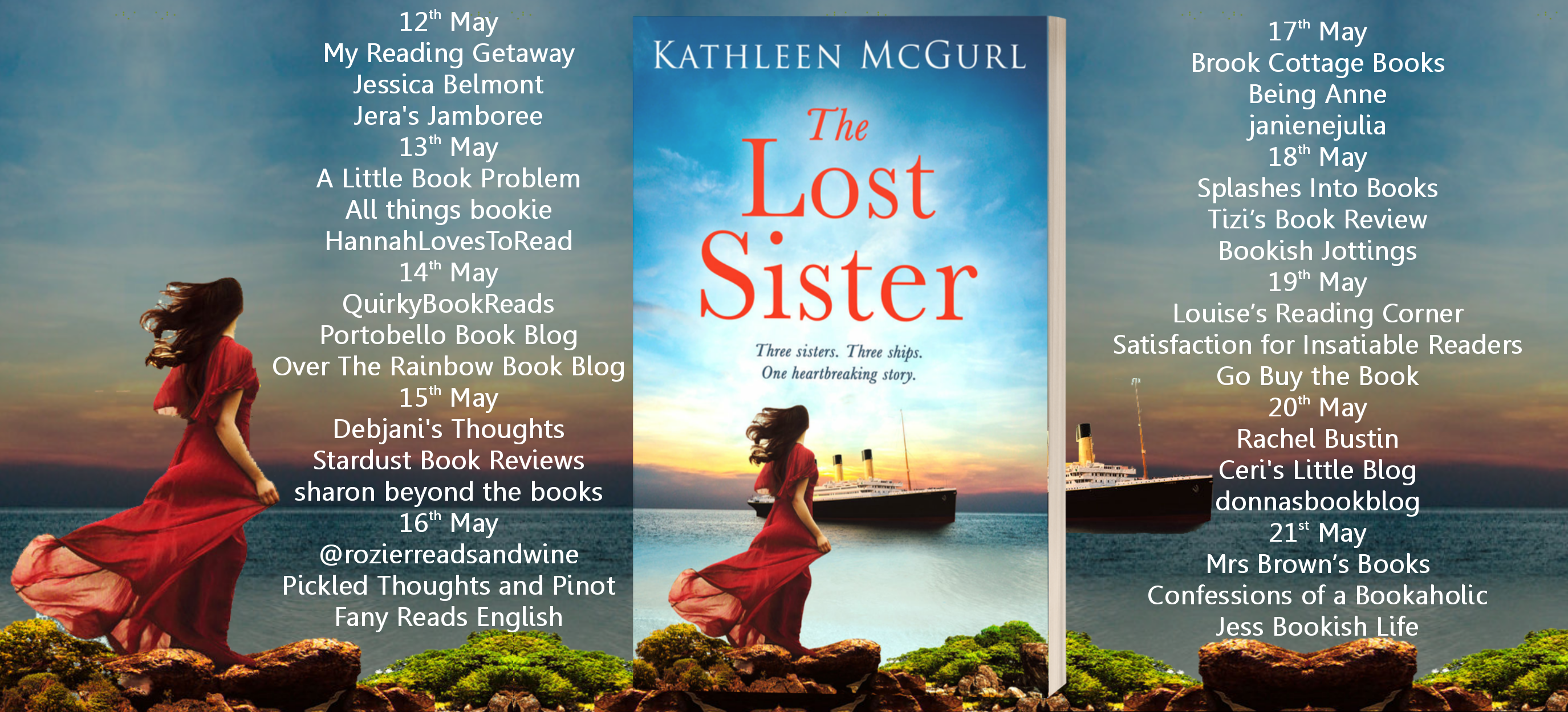 The Lost Sister Full Tour Banner