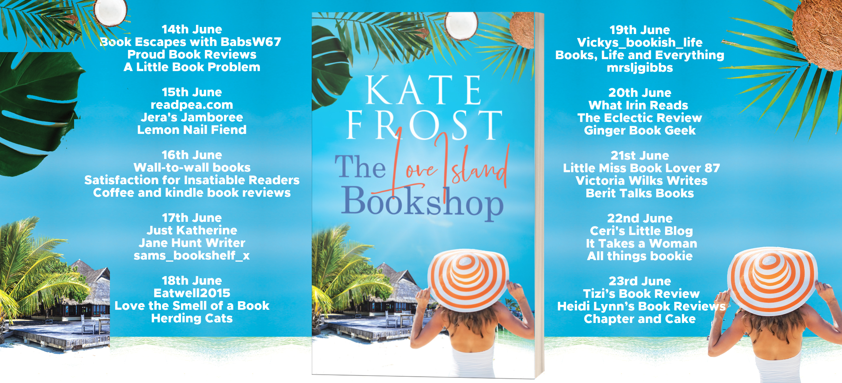 The Love Island Bookshop Full Tour Banner